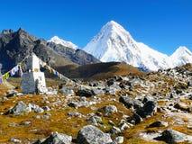 Himalayas Mountains Range, Everest Trail Royalty Free Stock Photography