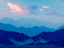 Himalayas mountains in twilight Stock Photography