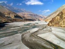 Himalayas - mustang superior imagem de stock