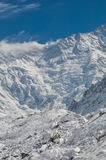Himalayas near Kanchenjunga Royalty Free Stock Photography