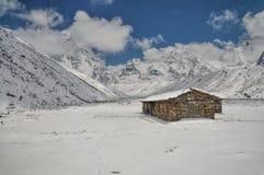 Himalayas near Kanchenjunga Royalty Free Stock Photography