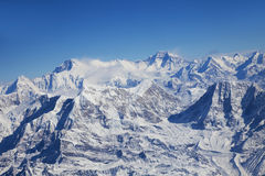 Himalayas, Nepal. Image of the Himalayas Mountain Range, Nepal Royalty Free Stock Photography