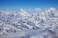 Himalayas, Nepal. Image of the Himalayas Mountain Range, Nepal Stock Images