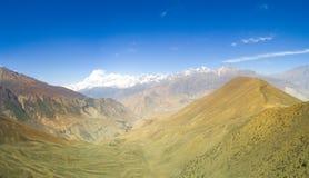 Himalayas Nepal de Dhaulagiri Mountain View Fotos de Stock