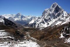 Himalayas, Nepal. Everest region of Himalaya mountains. Nepal royalty free stock image