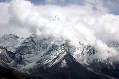 Himalayas, Nepal. Everest region of Himalaya mountains. Nepal stock photo