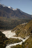 Himalayas in Nepal Royalty Free Stock Images