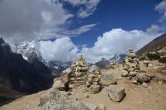 Himalayas in Nepal stock photos