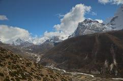 Himalayas in Nepal stock photo