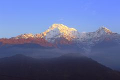 Himalayas. Nepal Royalty Free Stock Images