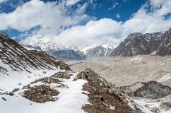 Himalayas. Ngozumba Glacier ,  Nepal Royalty Free Stock Photography