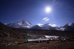 Himalayas at night Royalty Free Stock Photo