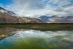 Himalayas. Nubra valley. Royalty Free Stock Photography