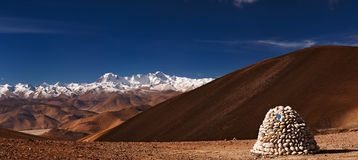 Himalayas panorama Stock Photos
