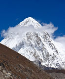 Himalayas Pumo Ri Stock Photo