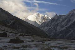 Himalayas, região de Langtang, Nepal Foto de Stock