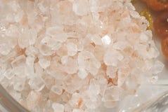 Himalayas salt Crystals Royalty Free Stock Photo