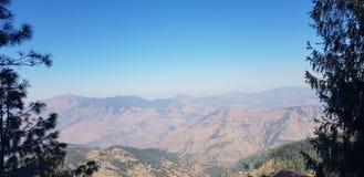 Himalayas. Shimla kufri Valley mountains Stock Images