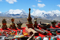 Himalayas. Souvenir of Tibet Stock Photos