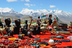 Himalayas. Souvenir of Tibet Stock Photo
