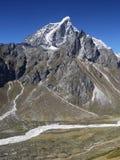 Himalayas. Taboche peak near Mt Everest Stock Image