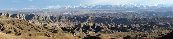 Himalayas in Tibet. Himalayas ans mountain in Tibet, China Royalty Free Stock Photos