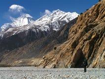 Himalayas - um passeio na montanha a Jomson imagem de stock royalty free