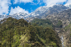 Himalayas from Yamunotri Valley Royalty Free Stock Images