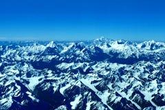 Himalayasna och k2en Arkivbilder