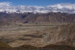 Himalayasna - Tibet - Kina Royaltyfria Foton