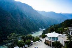 himalya山的家 库存照片