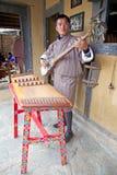 Himalyan folk music lute, Thimphu, Bhutan Royalty Free Stock Image