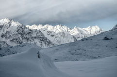 Himalyas perto de Kanchenjunga Fotos de Stock