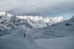 Himalyas vicino a Kanchenjunga Fotografie Stock
