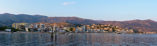 Himarë - Albanien Royaltyfria Foton