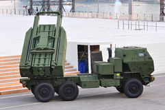 HIMARS on display during NDP 2011 Royalty Free Stock Photos
