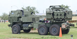 HIMARS system on display Royalty Free Stock Image