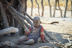Himba子项 免版税库存照片