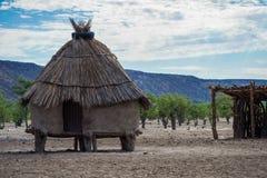 Himba小屋 图库摄影