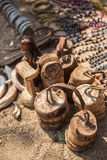 Himba村庄在纳米比亚 库存照片