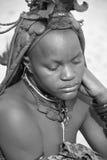 从Himba部落的妇女 库存图片