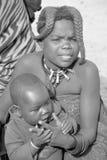 从Himba部落的孩子 免版税库存图片
