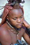 Himba部落 库存照片