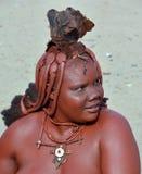 Himba部落 免版税图库摄影