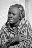 Himba部落 免版税库存照片