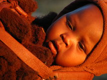 Himba baby Stock Image