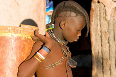 Himba boy Royalty Free Stock Photography