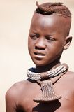 Himba boy in Namibia Royalty Free Stock Photos