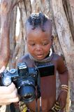 Himba child Stock Images