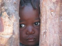 Himba child royalty free stock image